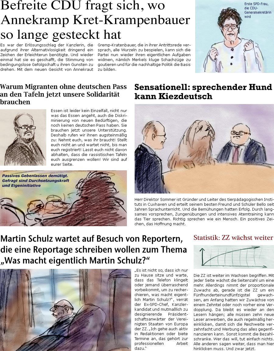 ZellerZeitung.de - Online-Satirezeitung von Bernd Zeller
