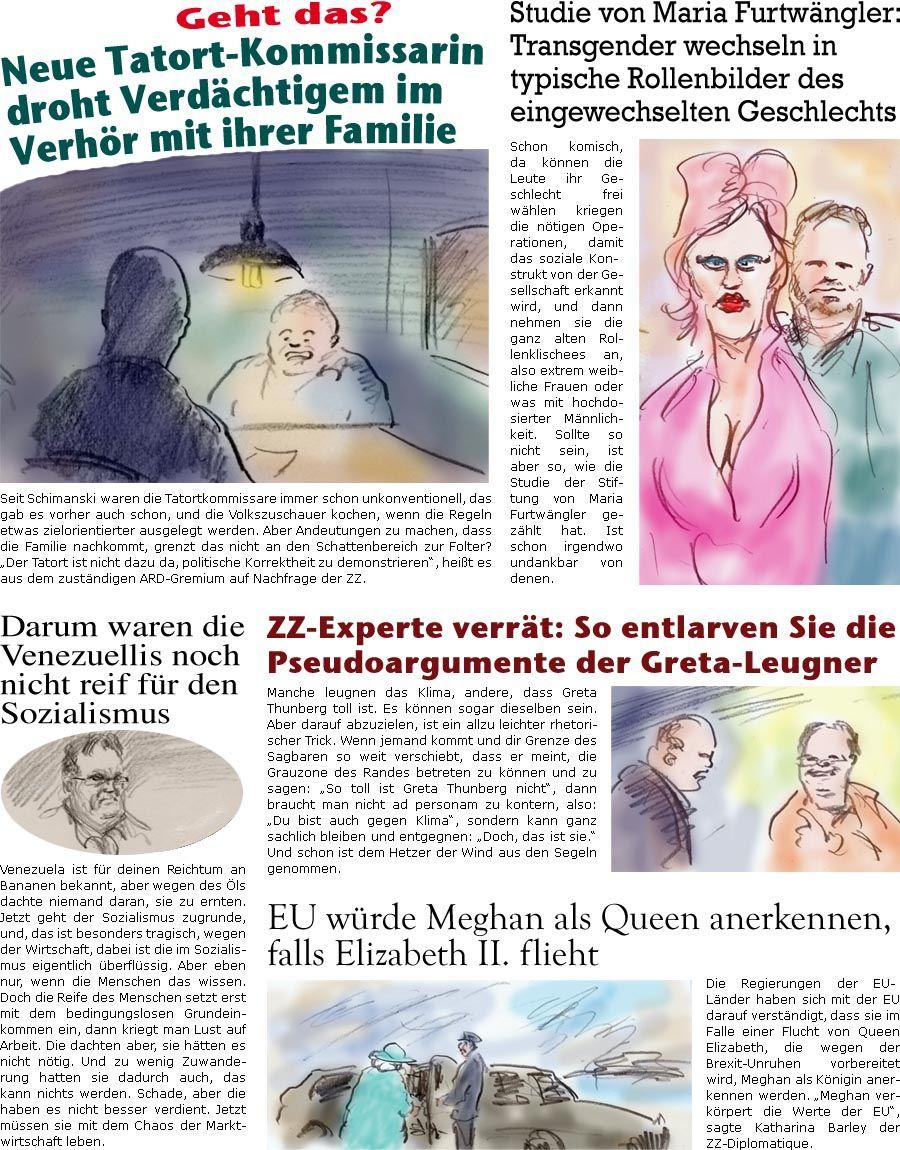 online satirezeitung von bernd zeller. Black Bedroom Furniture Sets. Home Design Ideas